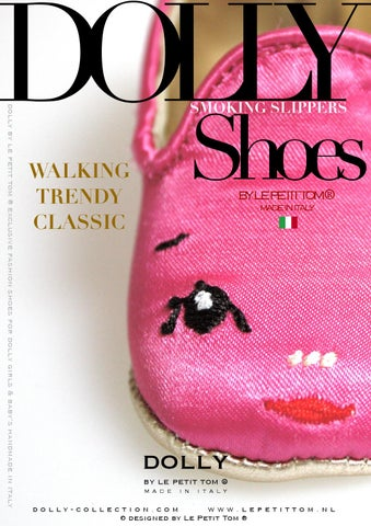 DOLLY SMOKING SLIPPERS