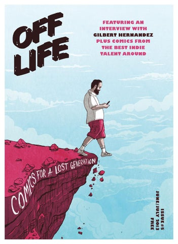 OFF LIFE issue five cover