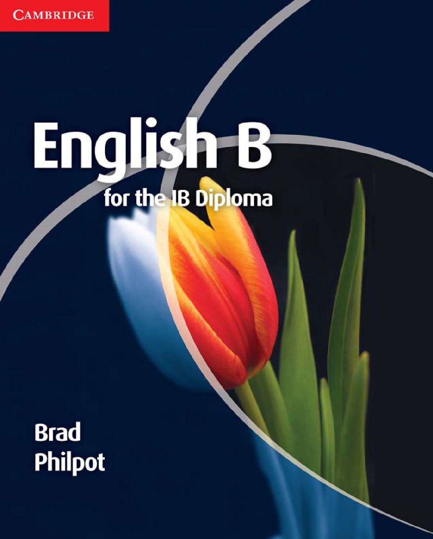 English b for the ib diploma coursebook cambridge