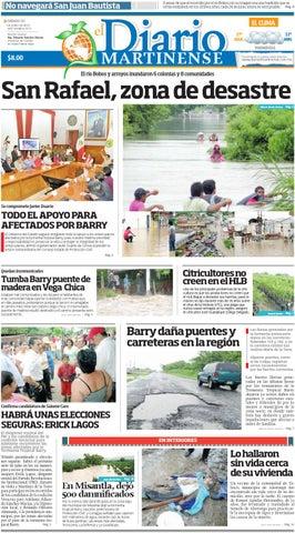 El Martinense 22 de Junio de 2013 by Diario de Poza Rica SA de CV