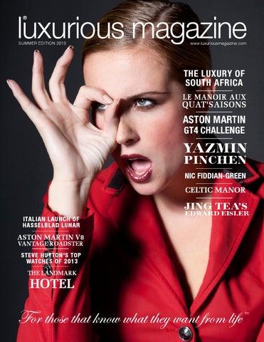 Luxurious Magazine - Summer 2013 Edition