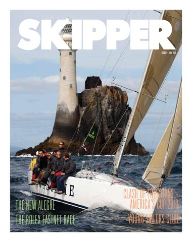 SKIPPER JUNE 2013 ISSUE 1 cover