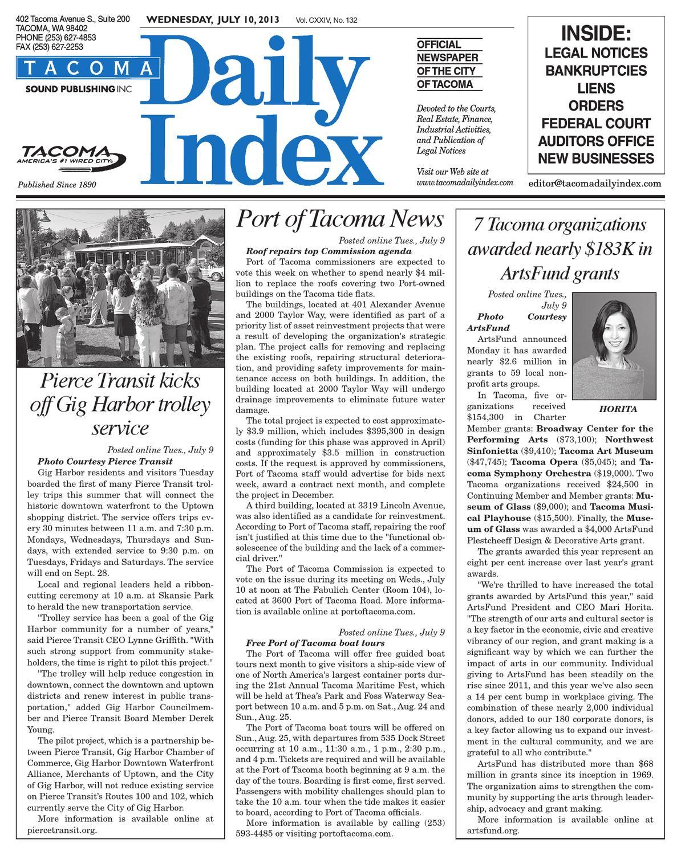 ISSUU - Tacoma Daily I...