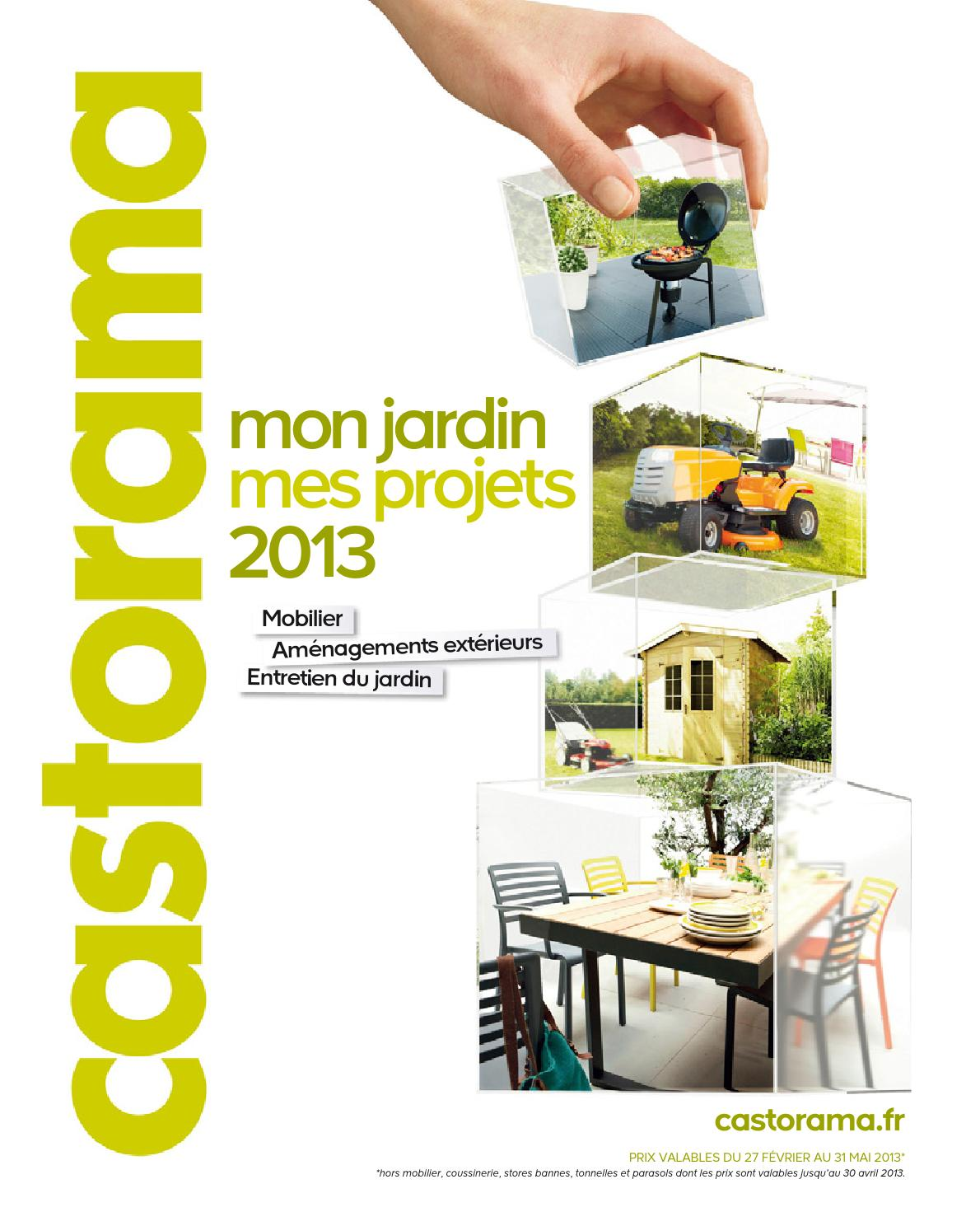 Catalogue castorama jardin projets by margot ziegler - Castorama jardin catalogue ...