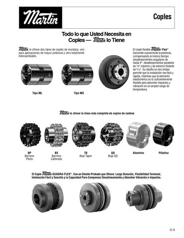 Catalogo de sprockets
