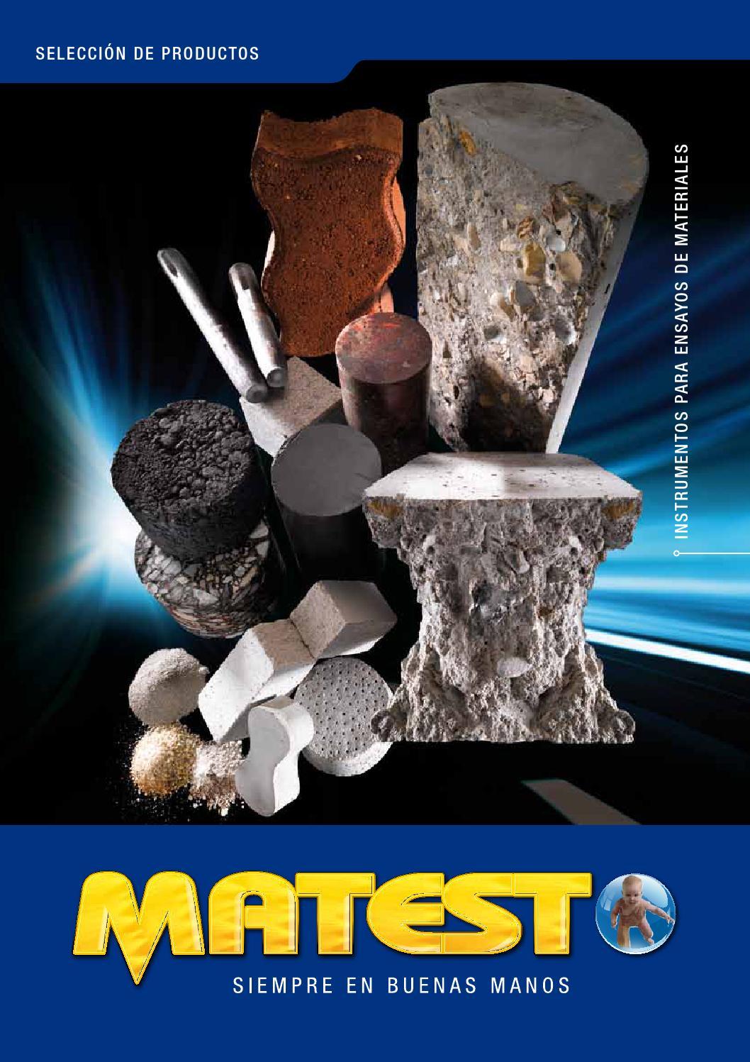 Issuu Matest Brochure Seleccion De Productos 2012