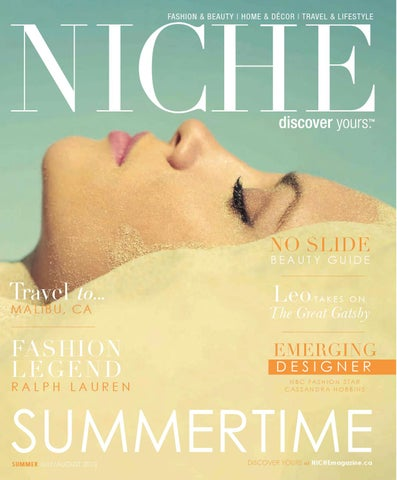 NICHE Summer Vol 01 Issue 04 cover