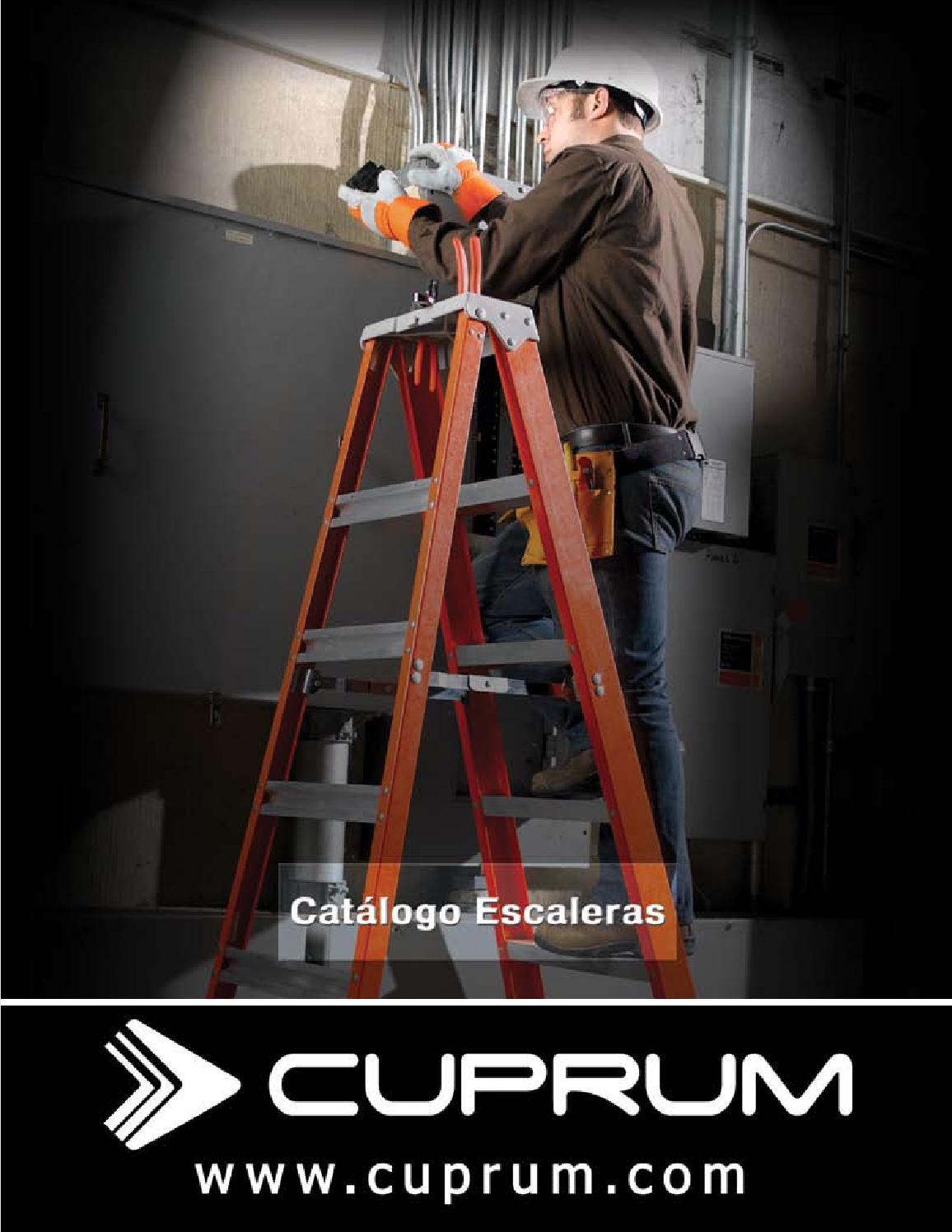 Issuu cat logo escaleras cuprum by mn del golfo for Escaleras cuprum
