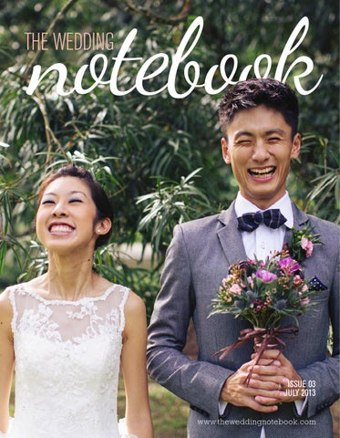 The Wedding Notebook July 2013 cover