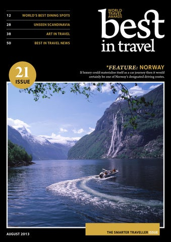 Best in Travel Magazine // Issue 21 // August 2013 cover