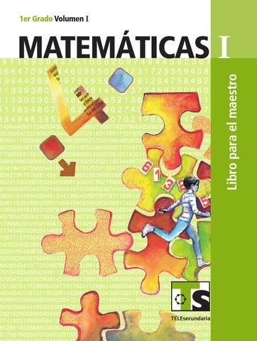 Maestro. Matemáticas 1er. Grado Volumen I
