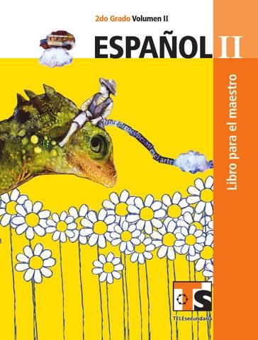 Maestro. Español 2o. Grado Volumen II