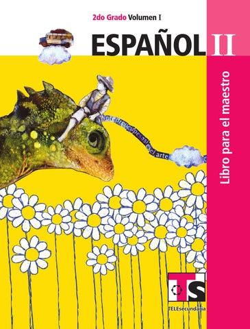 Maestro. Español 2o. Grado Volumen I