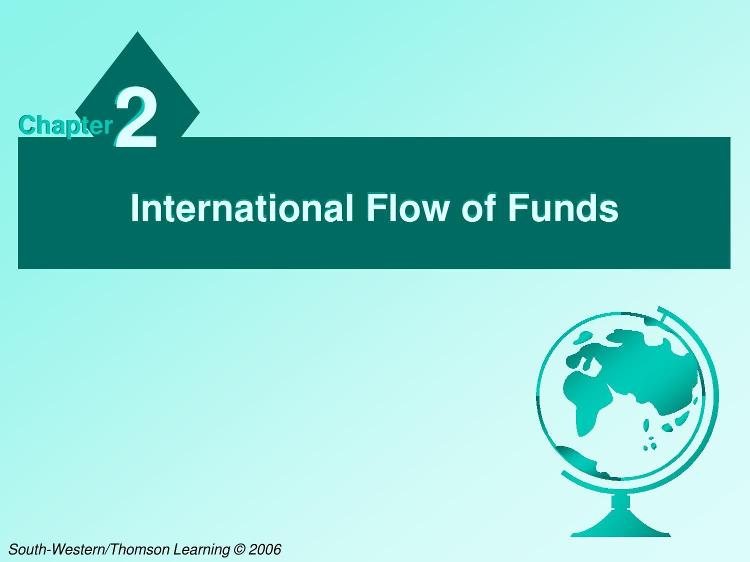 blades inc case exposure ti international flow of funds