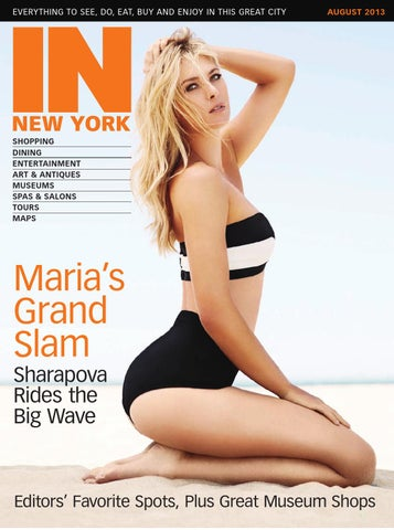 IN New York - August 2013 cover