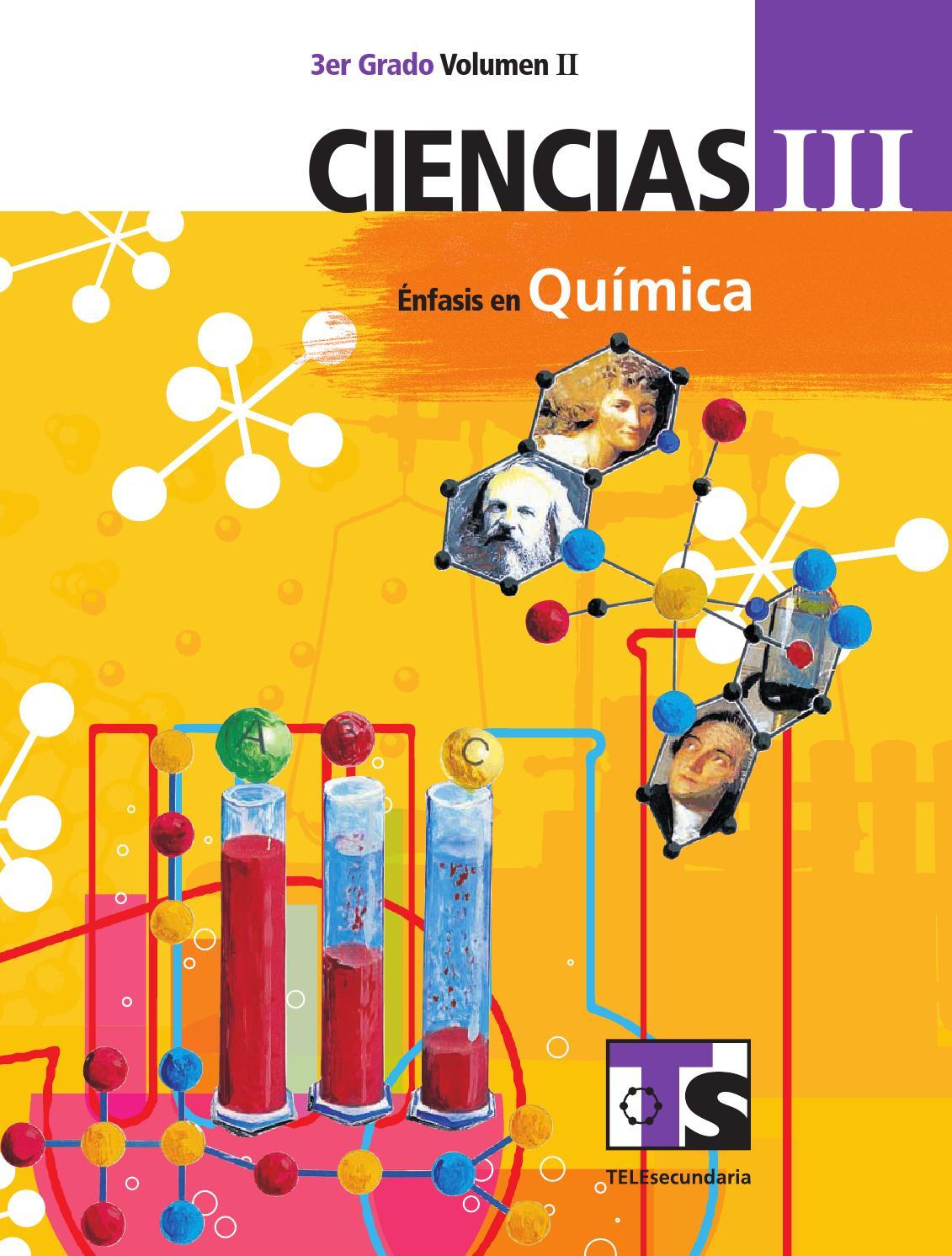 Ciencias 3er grado volumen ii by sbasica issuu for La quimica y la cocina pdf