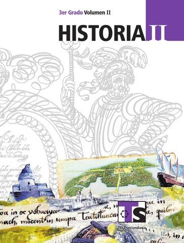 Historia 3er. Grado Volumen II
