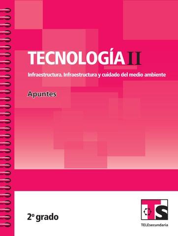 Apuntes 2o. Grado Tecnología II. Infraestructura