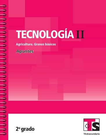 Apuntes 2o. Grado Tecnología II. Agricultura