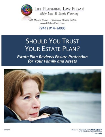 Should you trust your current estate plan
