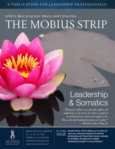 Leadership & Somatics | The Mobius Strip