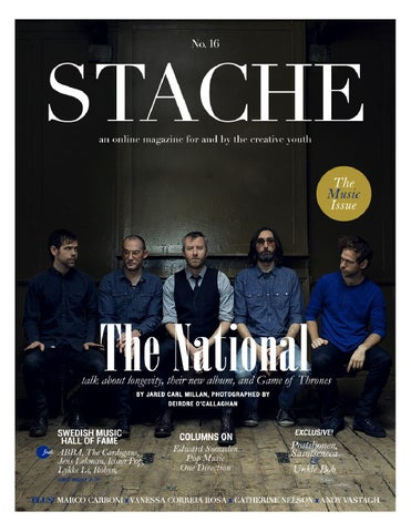 Stache August 2013 cover