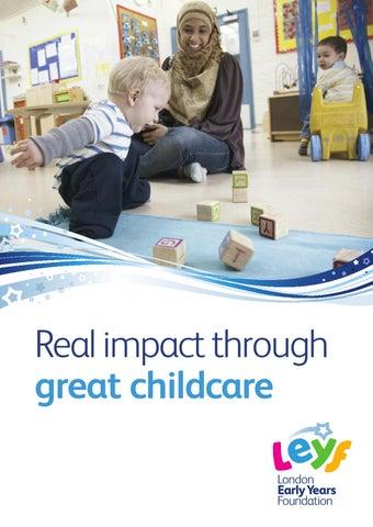 LEYF brochure 2013