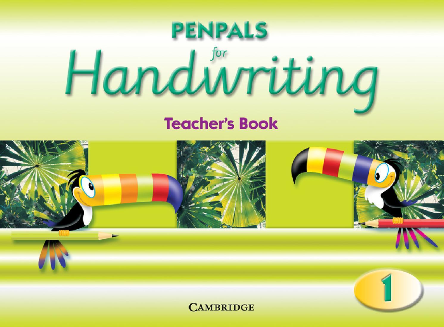 ISSUU - Penpals for Handwriting Year 1 Teacher's Book by ...