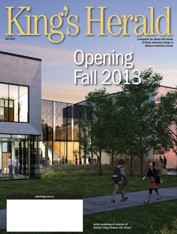 (image: King's Herald Fall 2013)