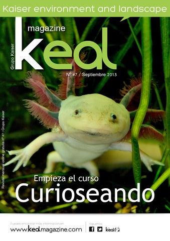 Número 7 de la revista de medio ambiente KEaL.