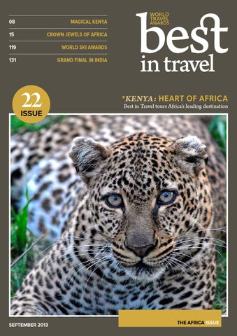Best in Travel Magazine // Issue 22 // September 2013 cover