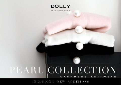 Pearl Collection, Cashmere knitwear DOLLY by Le Petit Tom ®