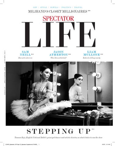 Spectator Life Autumn 2013 cover