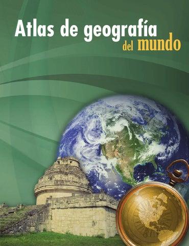 Atlas de geografía del mundo