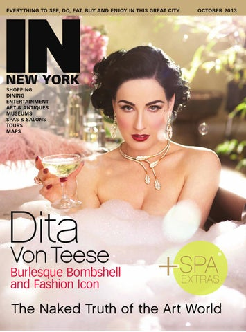 IN New York - October 2013 cover