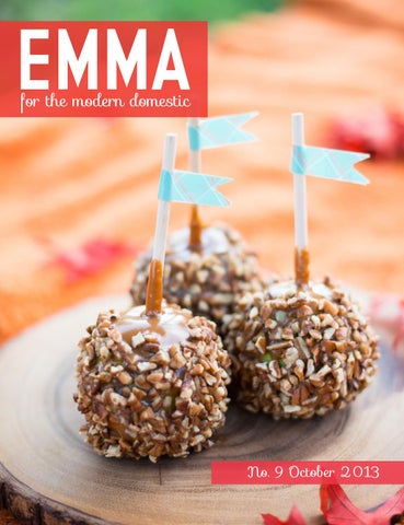 Emma Magazine: October Issue cover