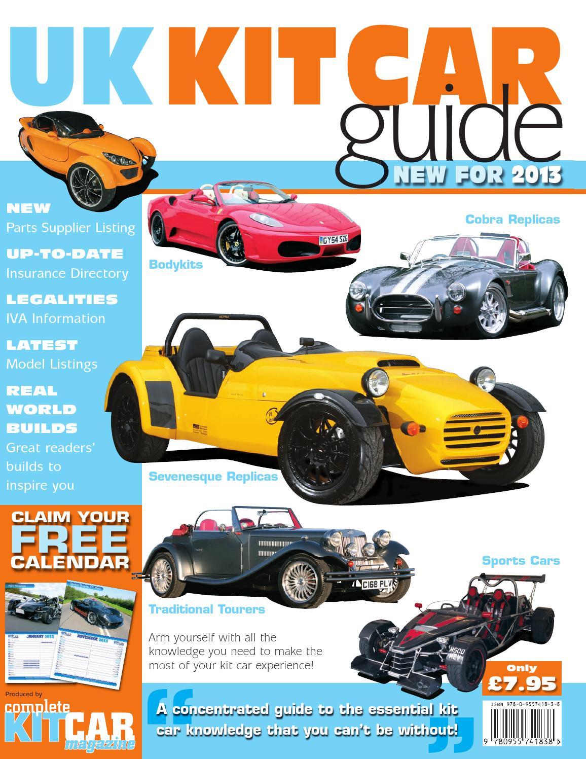 issuu uk kit car guide 2013 by performance publishing ltd. Black Bedroom Furniture Sets. Home Design Ideas