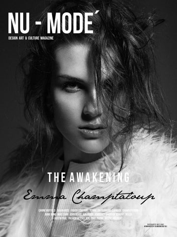 "Nu-Mode´ Magazine #9 ""The Awakening"" Autumn/Winter Edition cover"