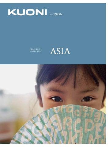 Kuoni Catálogo de Viajes Asia