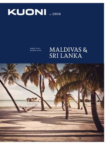 Kuoni Maldivas Catálogo de Viajes