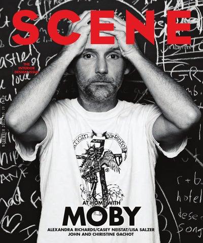 SCENE Magazine November 2013 cover