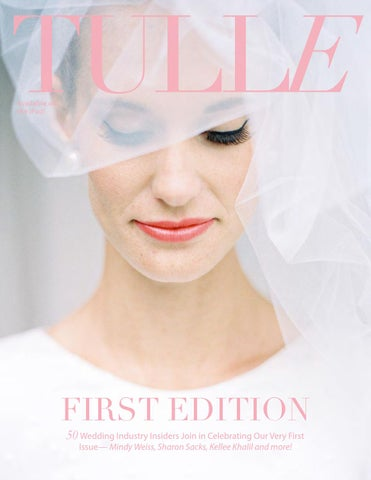 Tulle Magazine Premiere Issue cover