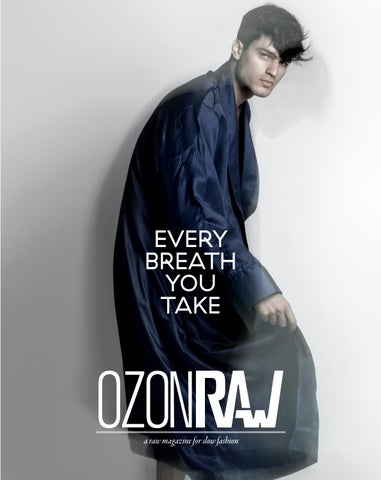 OzonRaw_Every breath you take_ October 2013 cover