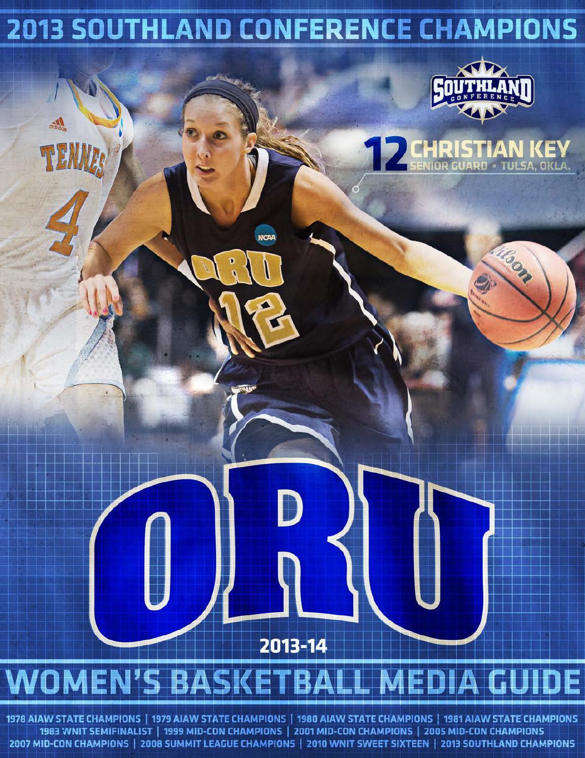 ISSUU - 2013-14 ORU Women's Basketball Media Guide by ORU ...
