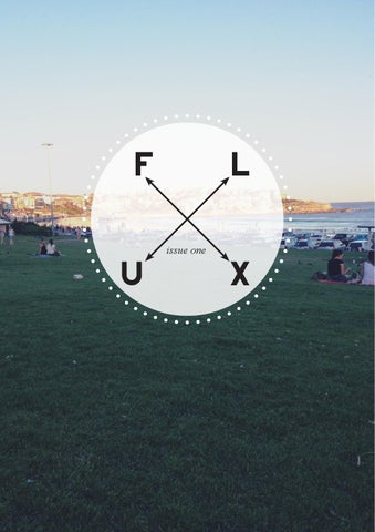 FLUX ZINE cover