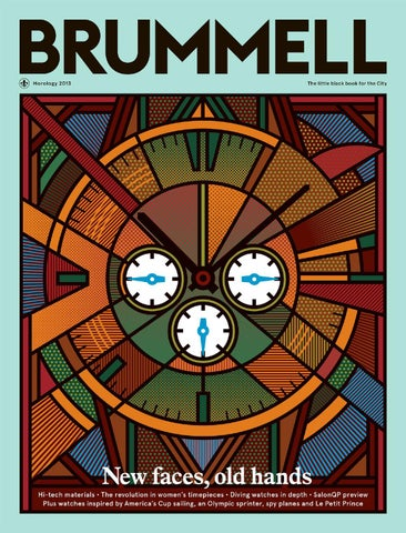 Brummell Horology 2013 cover