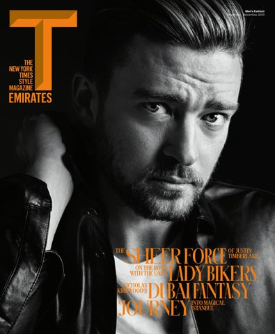 T Emirates: The New York Times Style Magazine cover