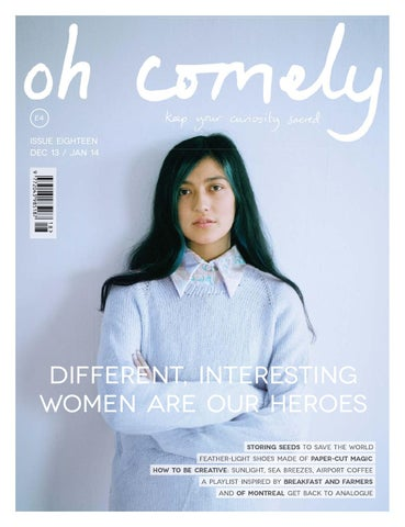 Oh Comely magazine issue 18, winter 13/14 cover