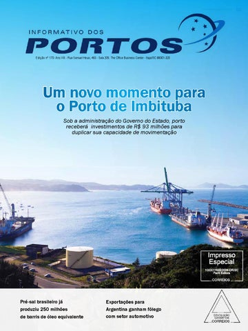 Revista Informativo dos Portos 170
