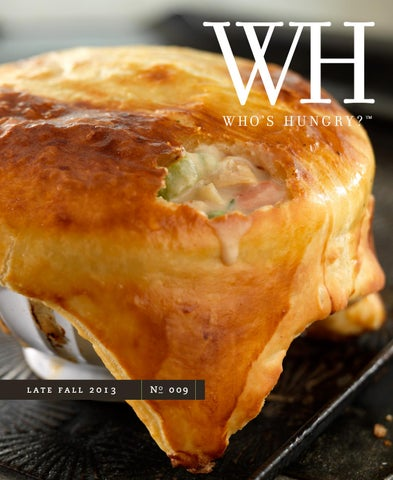 Who's Hungry? Magazine | Late Fall 2013 | No 9 cover